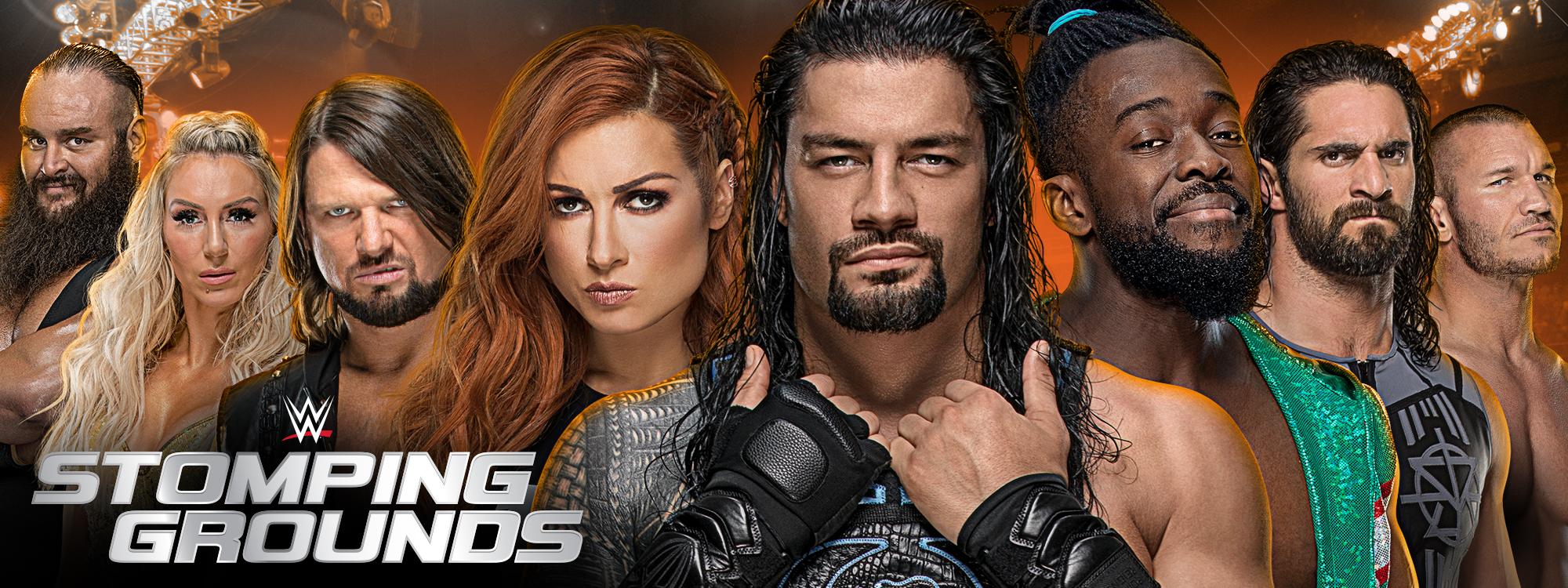 Stomping Grounds, el nuevo PPV que WWE presentará en junio 2
