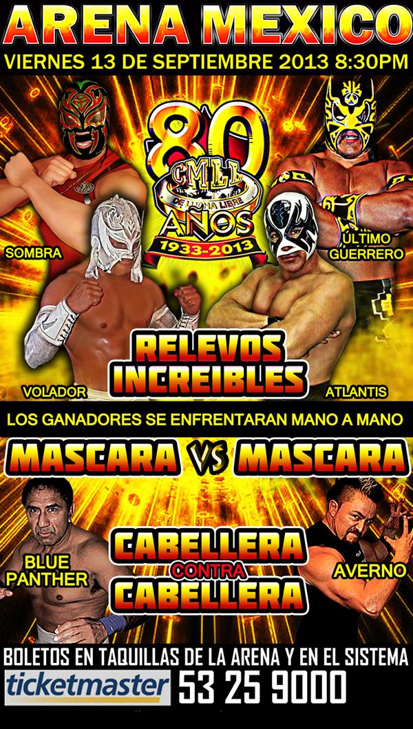 80 Aniversario del CMLL