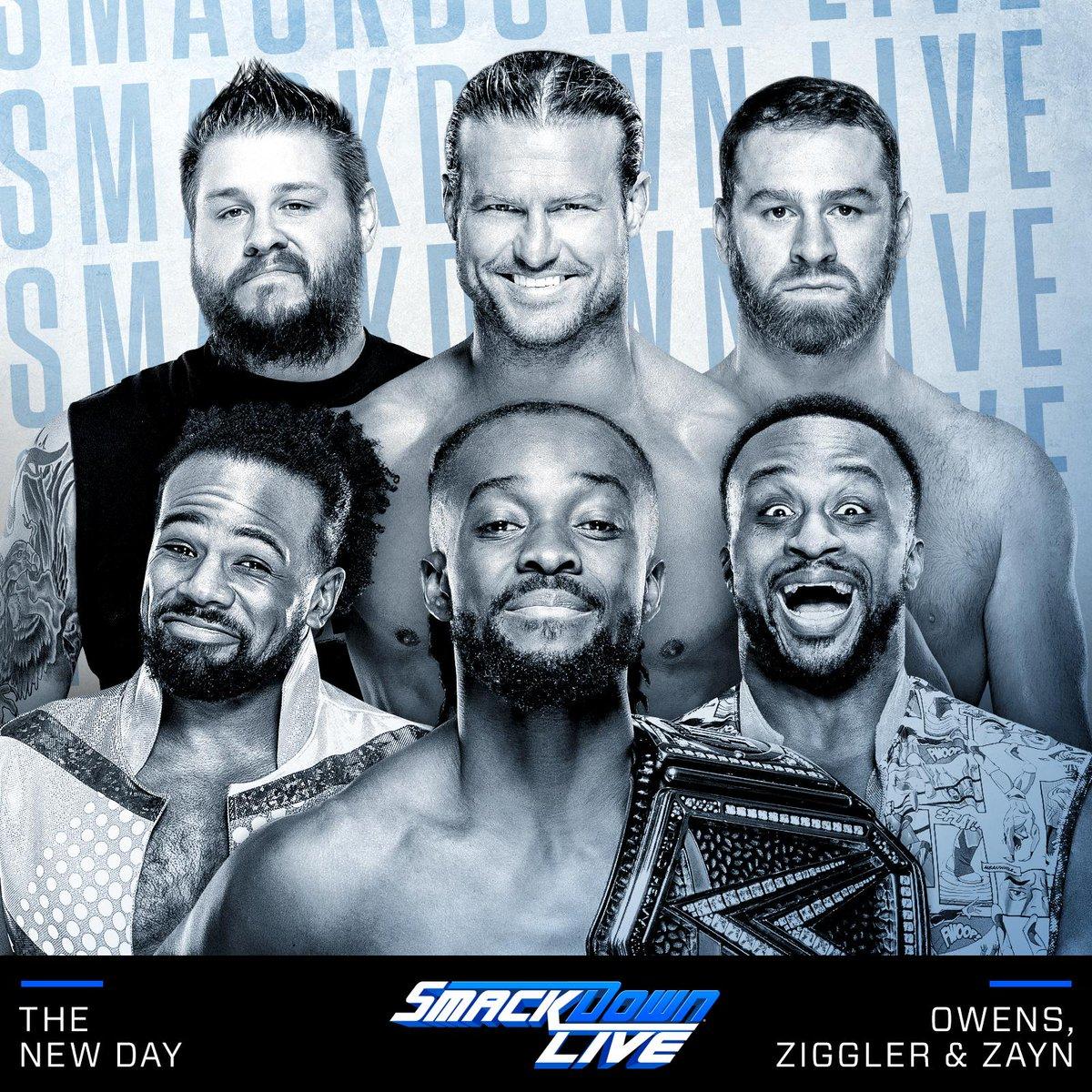 Resultados SmackDown Live (11-06-19) — Regresa The New Day 41