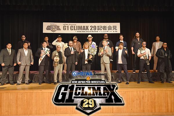 NJPW: Presentación oficial del G1 Climax 29 15