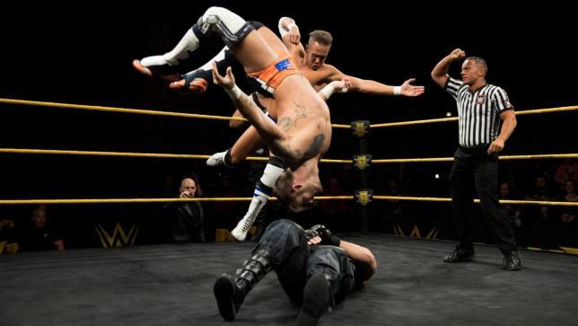 Los luchadores que participaron una sola vez en NXT TakeOver 8