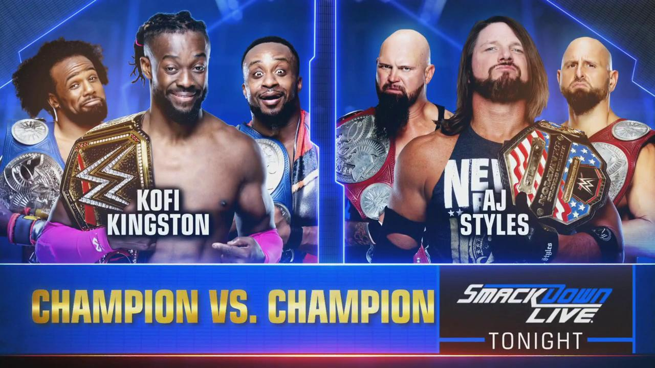 WWE SMACKDOWN LIVE (30 de julio 2019)   Resultados en vivo   Kofi vs. Styles 11