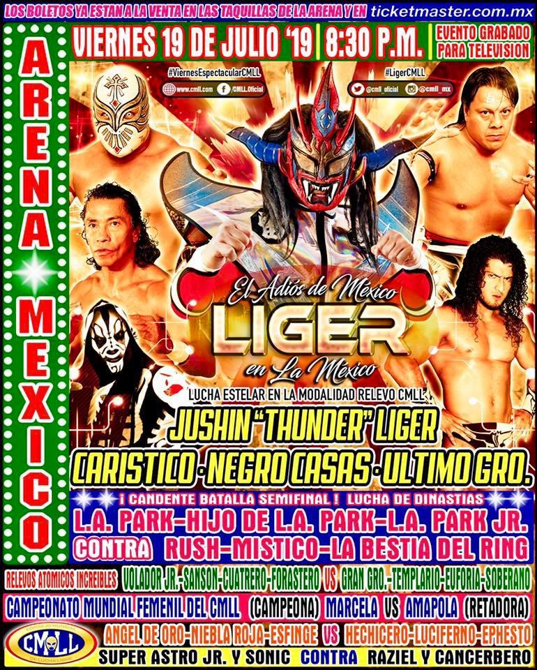 "1989: Así fue el debut de Jushin ""Thunder"" Liger en México 1"