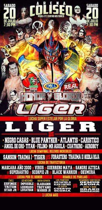 "1989: Así fue el debut de Jushin ""Thunder"" Liger en México 3"