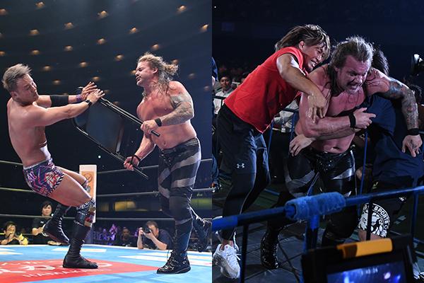 Jericho contra Tanahashi para Wrestle Kingdom 14 1