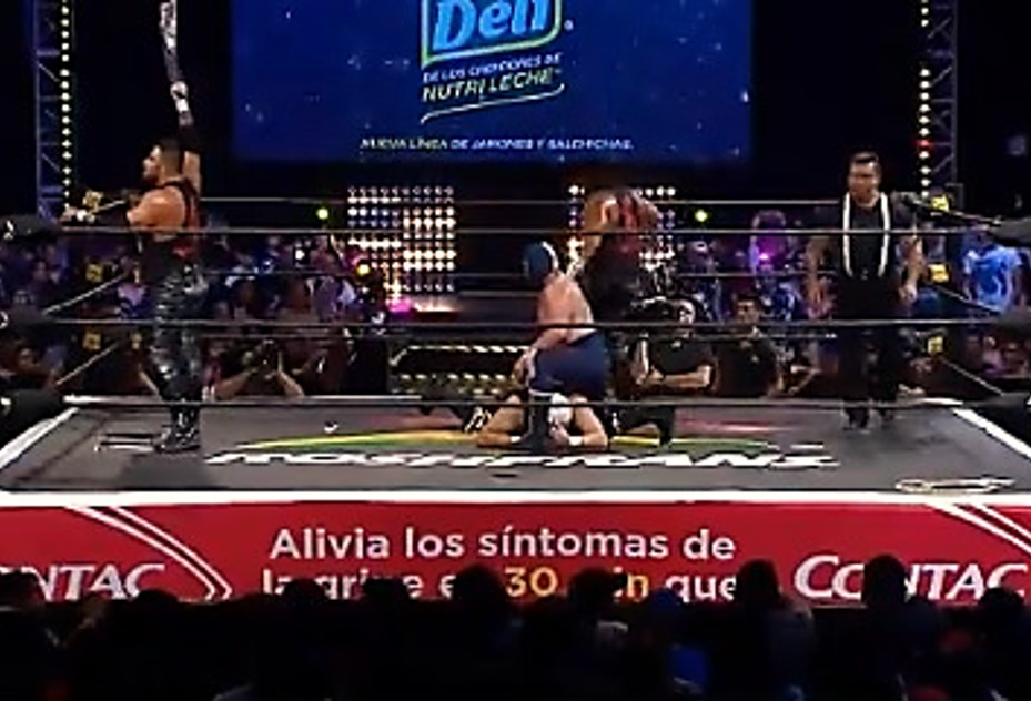 Blue Demon Jr. y Mercenarios triunfan en SLP, homenaje a Perro Aguayo 3