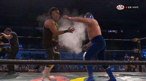 AAA: Conquista Total llega a los Mochis, Demon y Texano Jr., desatados 14