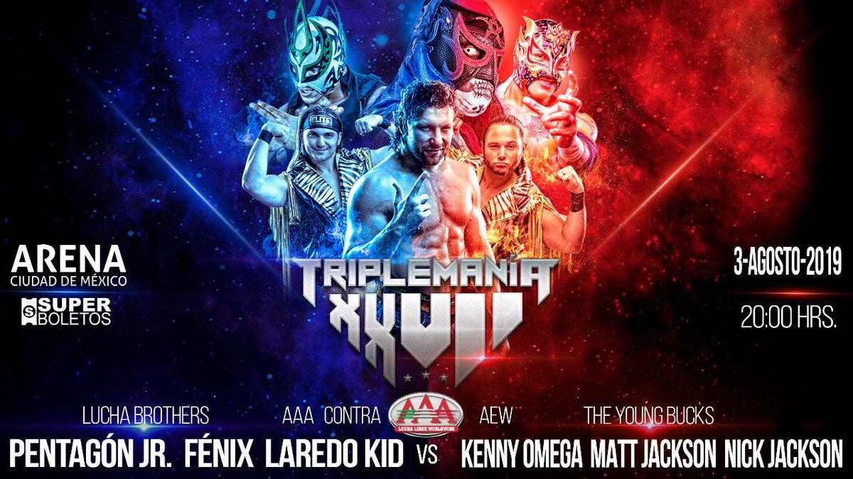 Triplemanía XXVII: Lucha Brothers y Laredo Kid tendrán su revancha de Fyter Fest 1