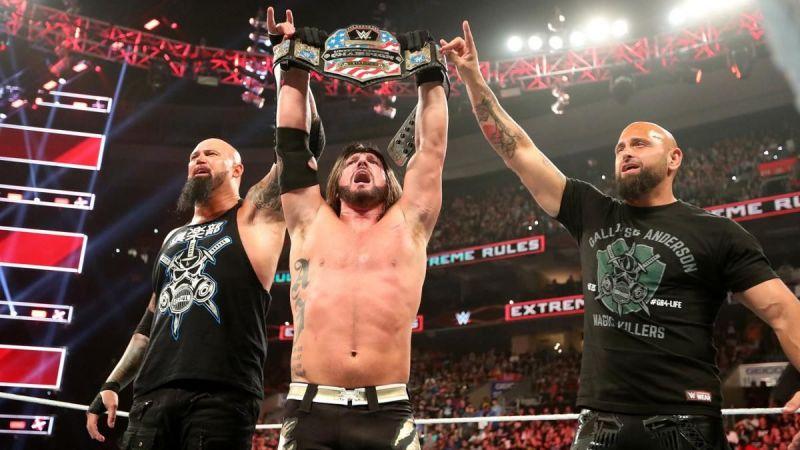 Styles en Clash of Champions
