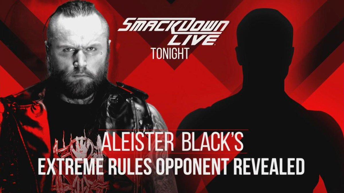 Extreme Rules: Cesaro llama a la puerta de Aleister Black 1