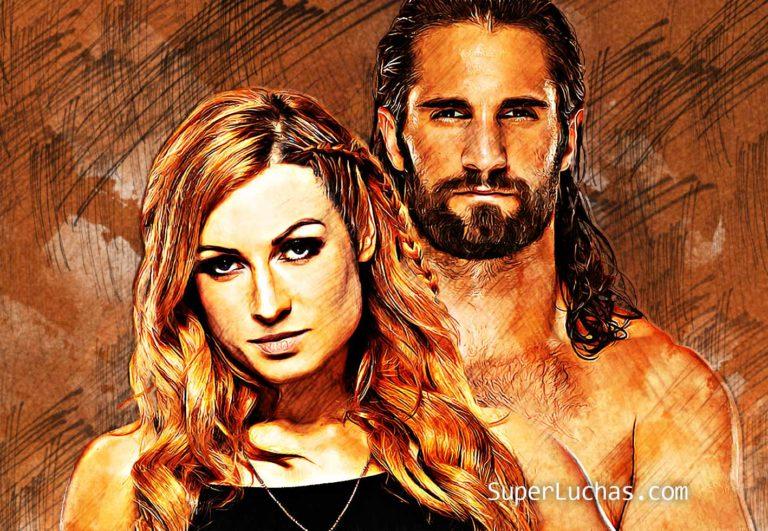 Becky Lynch y Seth Rollins, comprometidos.