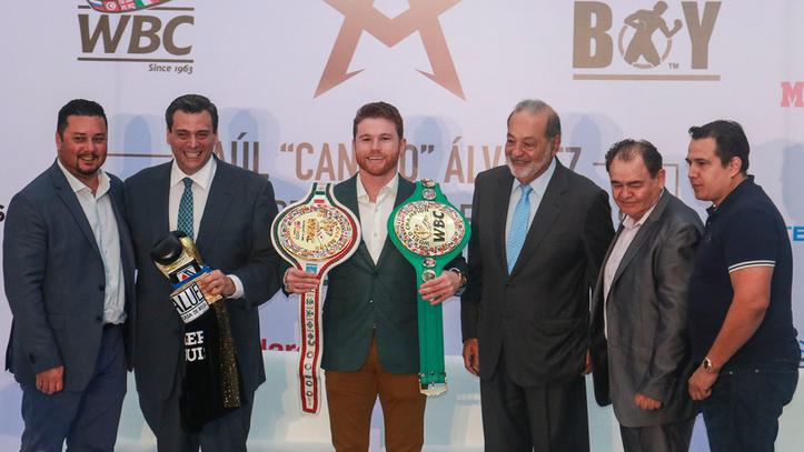 Canelo Álvarez es el primer campeón franquicia del CMB 7