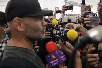 AAA: Caín Velásquez llegó a México y está listo para Triplemanía 1