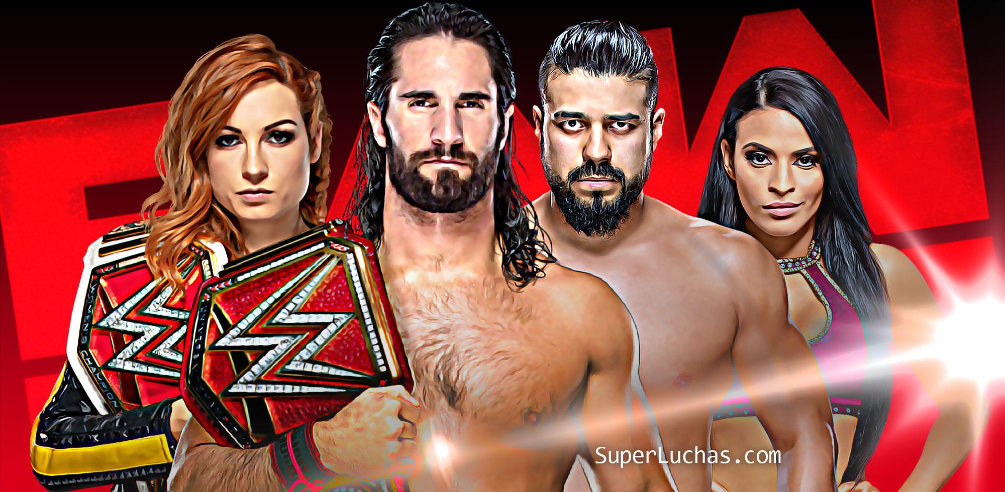 Resultados Monday Night Raw (8-07-19) — The Club viene por todo 2