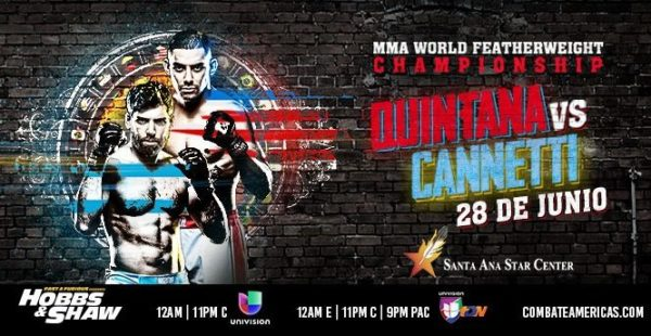 Se postergó Combate Americas 41: Quintana vs. Cannetti 2 6