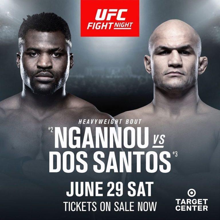 Análisis Ngannou vs dos Santos en UFC on ESPN 3 2
