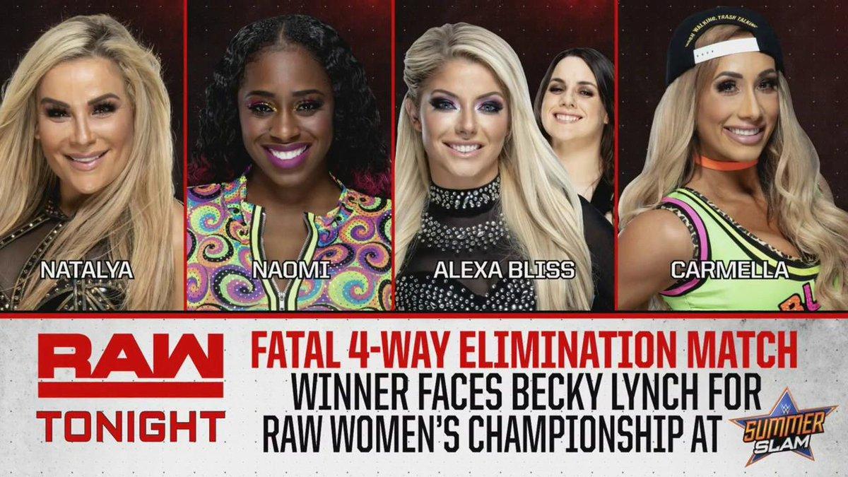 WWE RAW (15-07-19) | Resultados en vivo | A la caza de la Bestia 45