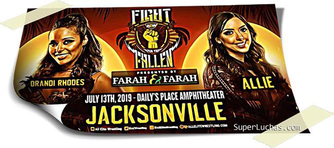 Resultados AEW FIGHT FOR THE FALLEN (13-07-19) | Young Bucks vs. Cody y Dustin 30