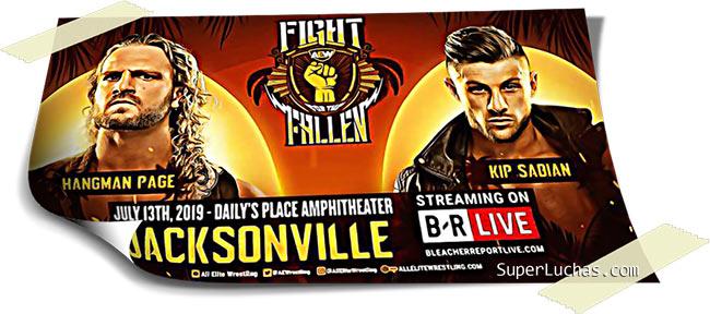 Resultados AEW FIGHT FOR THE FALLEN (13-07-19) | Young Bucks vs. Cody y Dustin 54