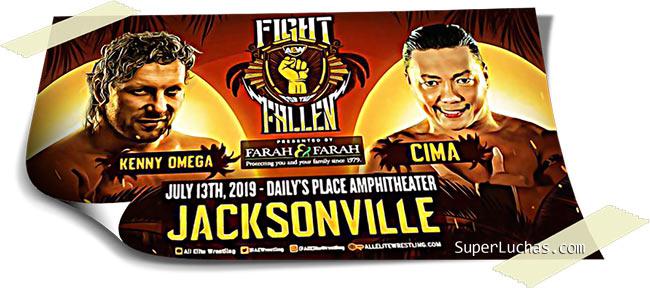 Resultados AEW FIGHT FOR THE FALLEN (13-07-19) | Young Bucks vs. Cody y Dustin 87