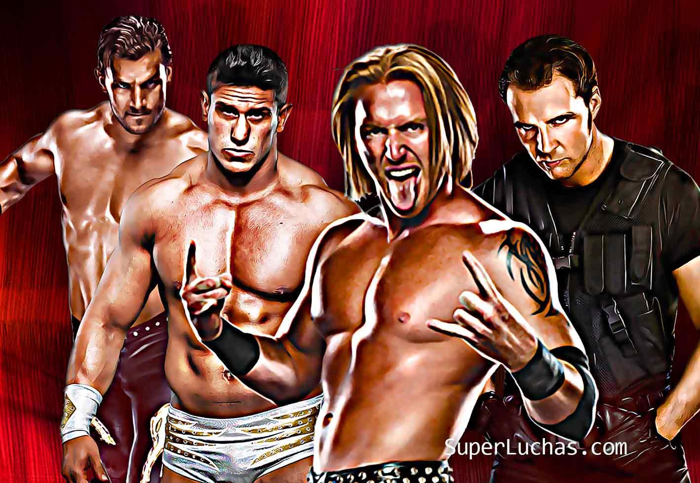 Fandango, Derrick Bateman, Heath Slater, Dean Ambrose