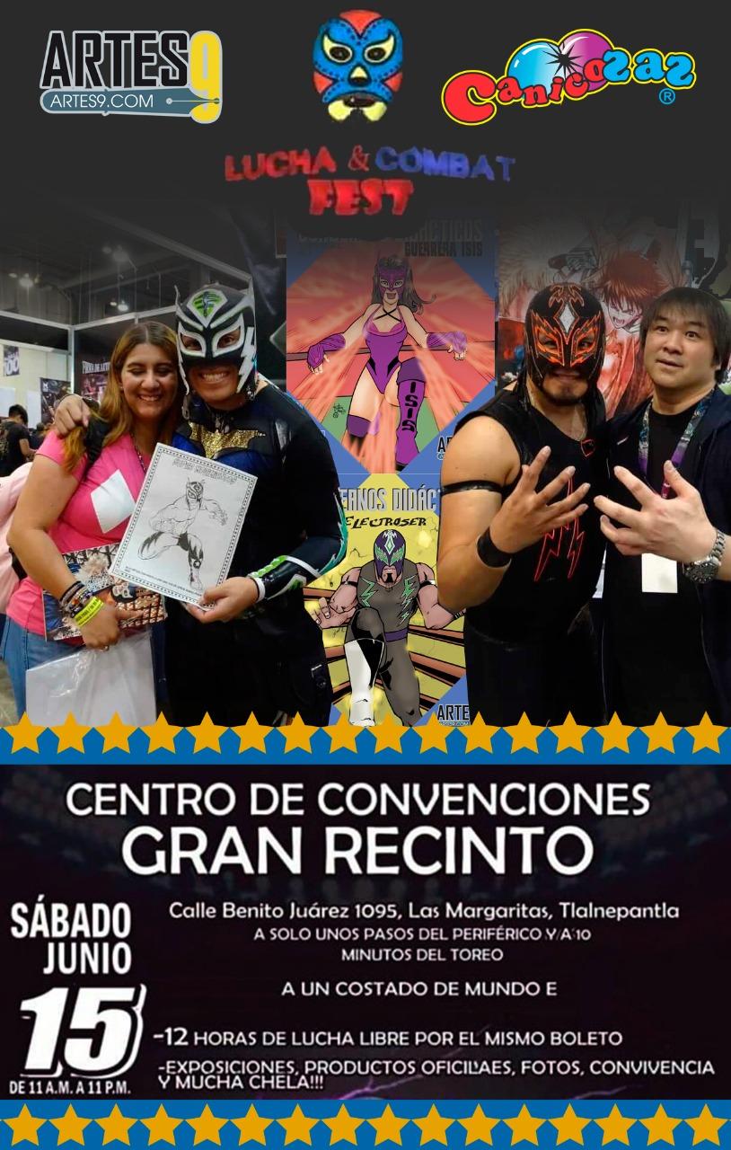 """Artes9, Canicozaz, Electroser y Zumbi presentes en el """"Lucha & Combat Fest""""- Tenemos una sorpresa para ti 32"""