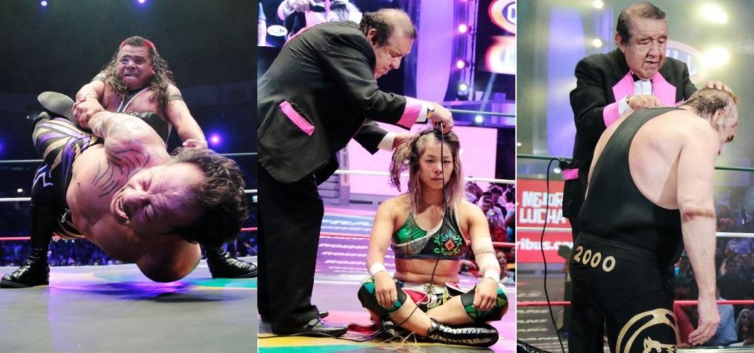 CMLL: Metálico, Kaho Kobayashi y Máscara Año 2000 sufren Juicio Final 30