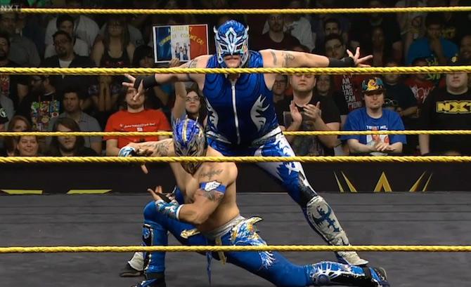 Los luchadores que participaron una sola vez en NXT TakeOver 2