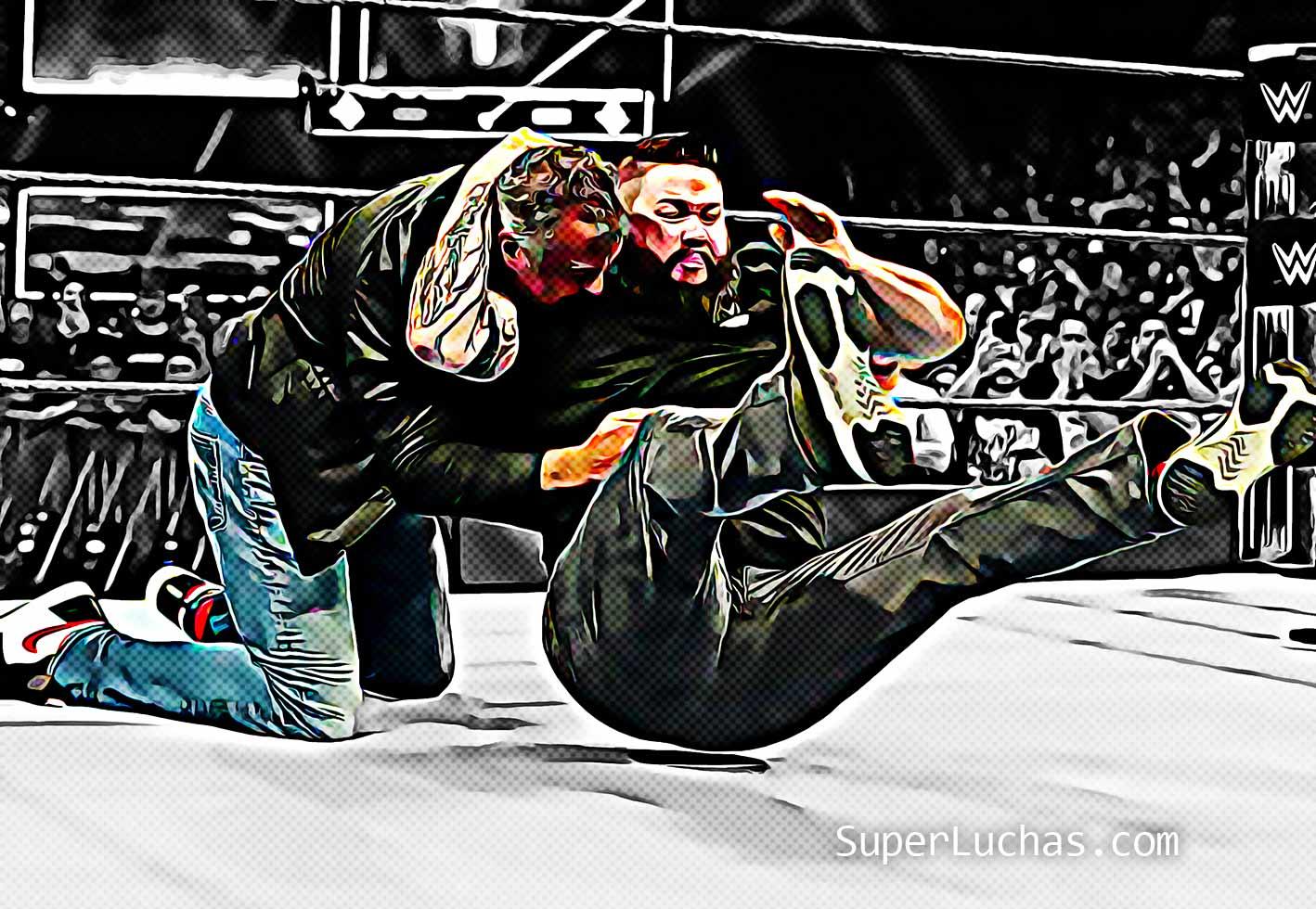Kevin Owens Shane McMahon Stunner