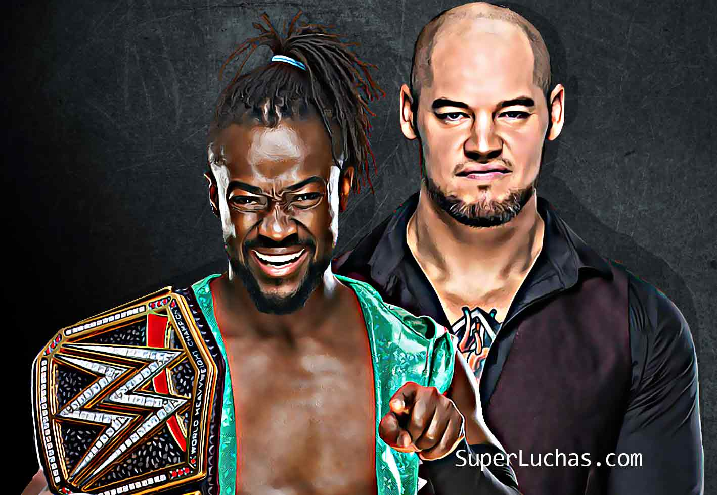 Kofi Kingston Baron Corbin