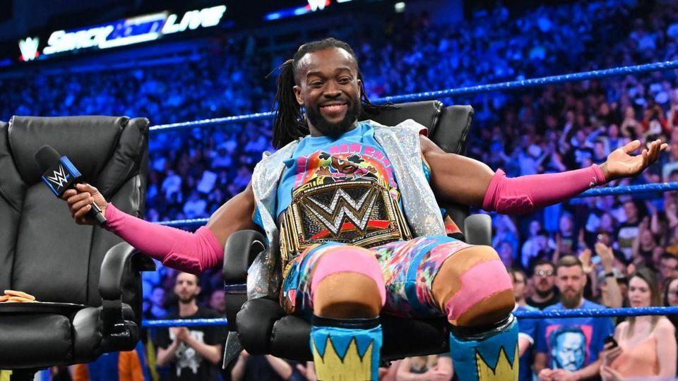 Kofi Kingston como Campeón WWE