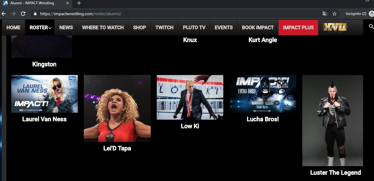 Impact Wrestling añade a Lucha Brothers a su sección Alumni 1
