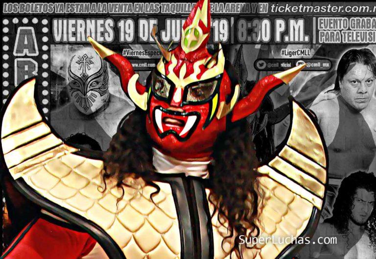 "Jushin ""Thunder"" Liger Arena México"