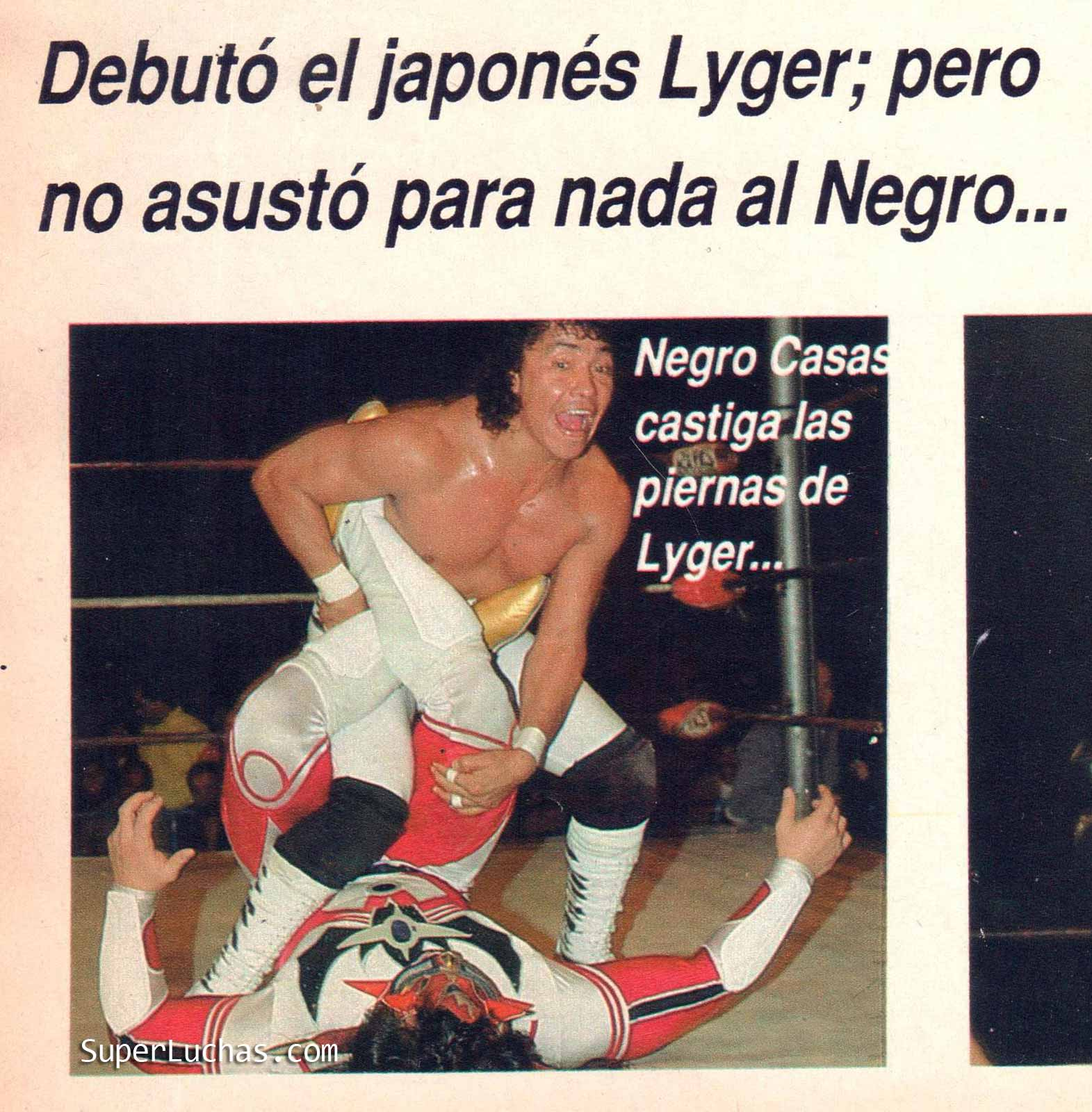 """Jushin """"Thunder Liger vs. Negro Casas"""