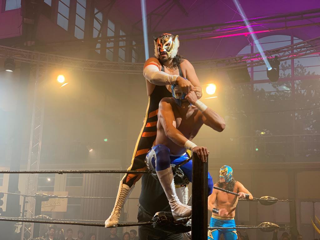 El CMLL invitado a la quinta edición del Festival Lille3000 en Francia 36