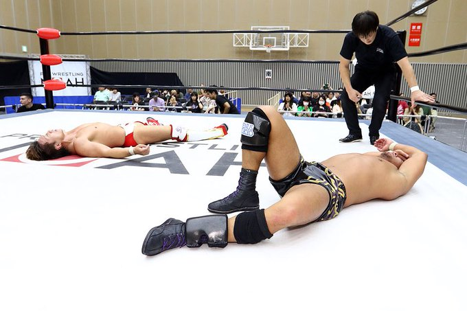 "NOAH: ""Global Jr. League 2019"" Día 4 Minoru Tanaka mantiene ventaja 5"