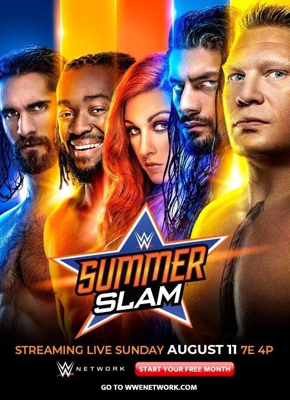 Favoritos y no favoritos: Los momios para SummerSlam 2019 1