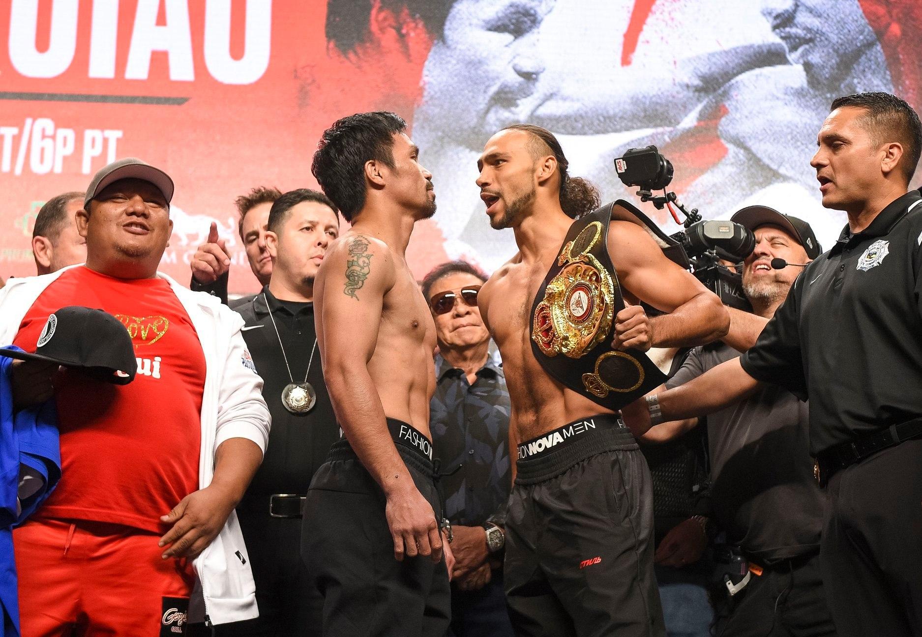 Pacquiao derrotó a Thurman por decisión dividida 2