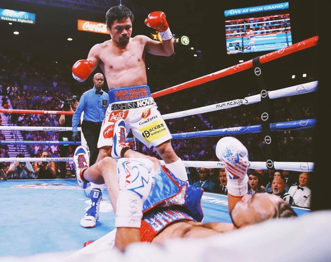 Pacquiao derrotó a Thurman por decisión dividida 1