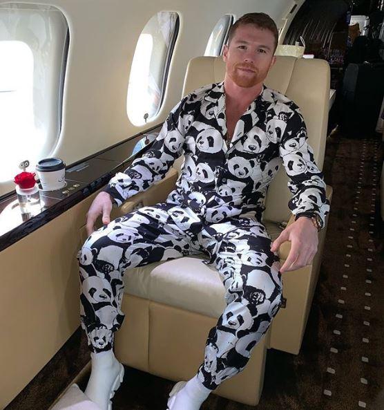 Canelo recaudará fondos con su pijama de pandas 3