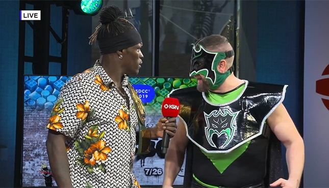 R-Truth enfrentó a inesperado rival por el 24/7: Hurricane 1