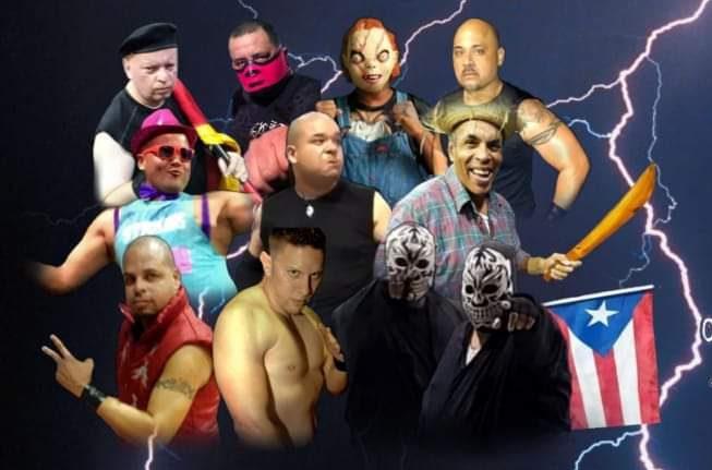 Revolutionary Caribbean Wrestling presenta Claustrofobia 2019 1
