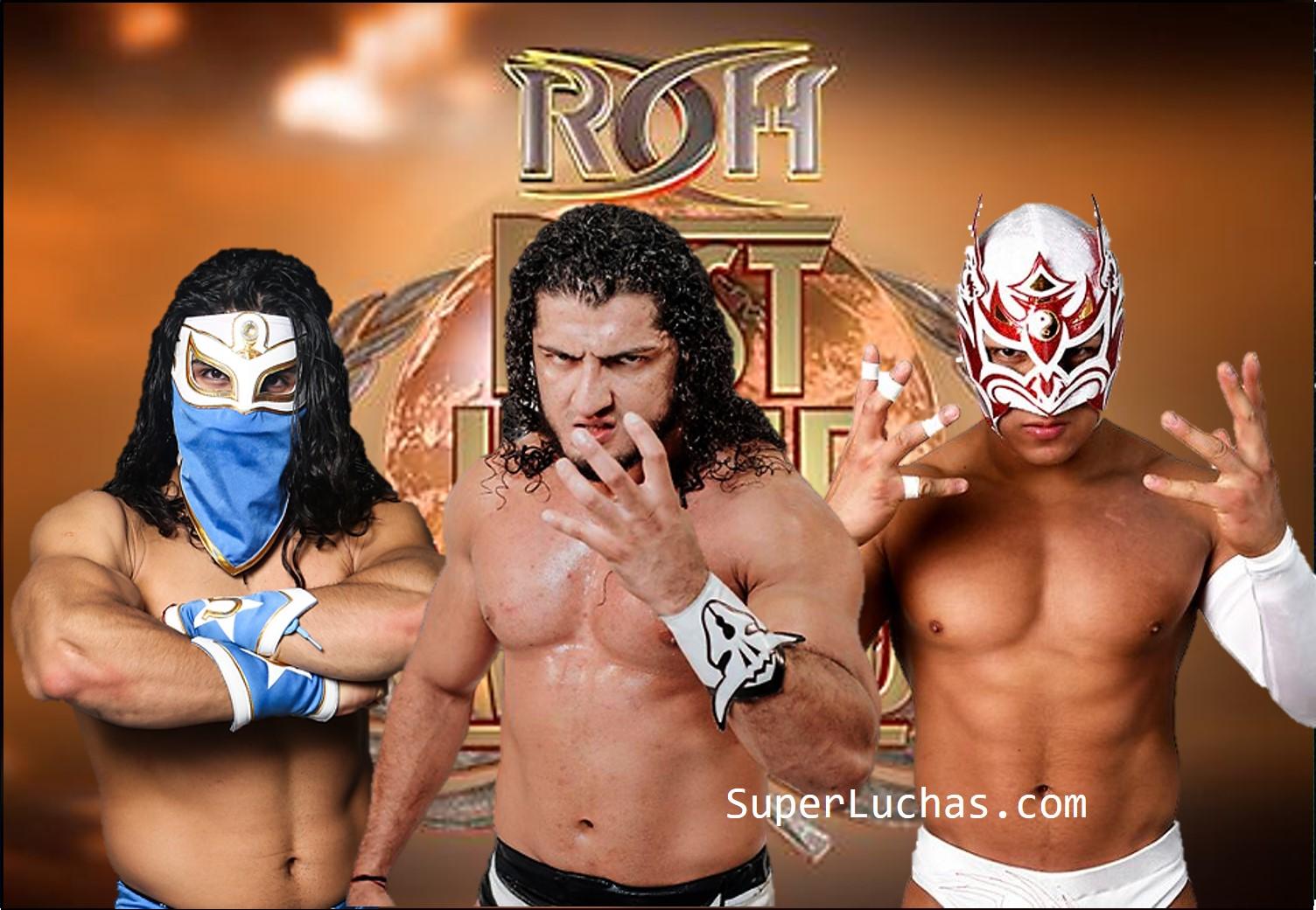 """ROH: Luchadores mexicanos en acción en """"Best in the World"""" 1"""