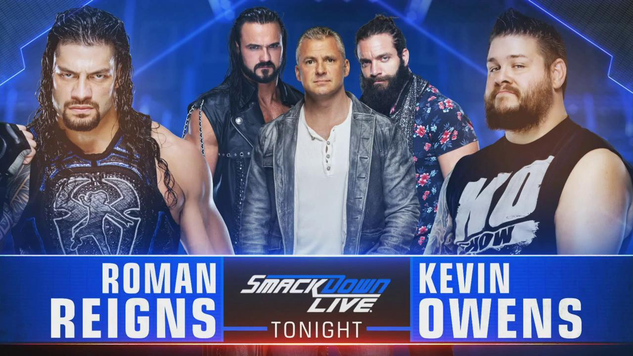 SMACKDOWN LIVE (23 de julio 2019) | Resultados WWE en vivo | Owens al acecho 45