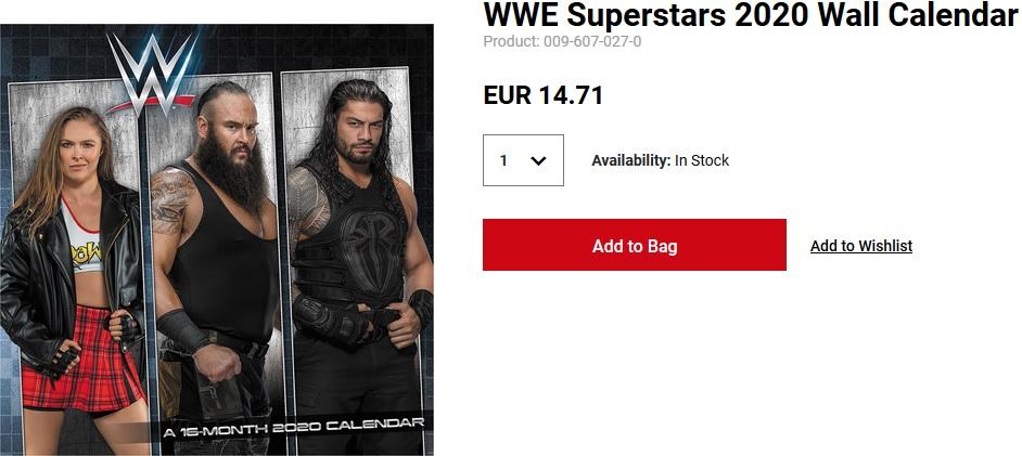 Curioso indicio en WWE Shop acerca del futuro de Ronda Rousey 1