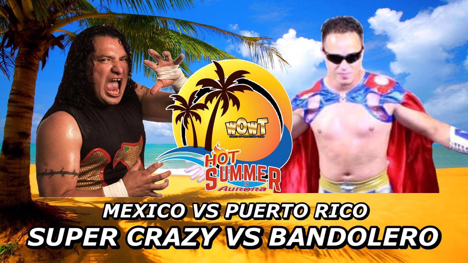 ¡Super Crazy vs Bandolero por el Campeonato Mundial de WOWT! 38