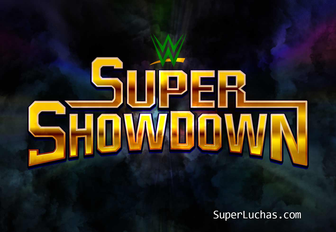 Cartel de Super ShowDown 2020