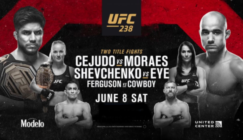 Todo listo para UFC 238: Henry Cejudo vs. Marlon Moraes 3
