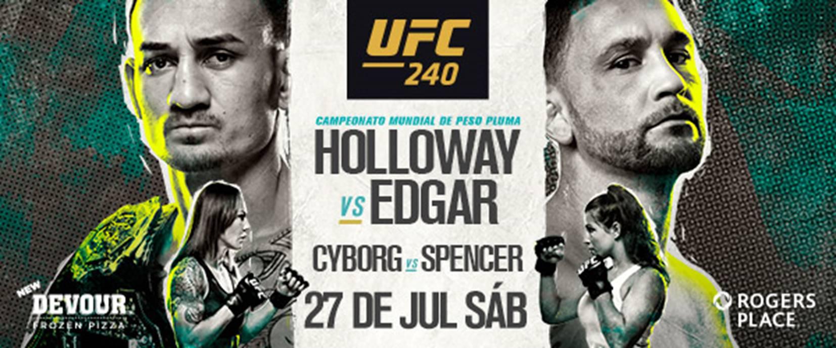 Resultados UFC 240: Holloway retuvo el Campeonato de Peso Pluma ante Edgar 1