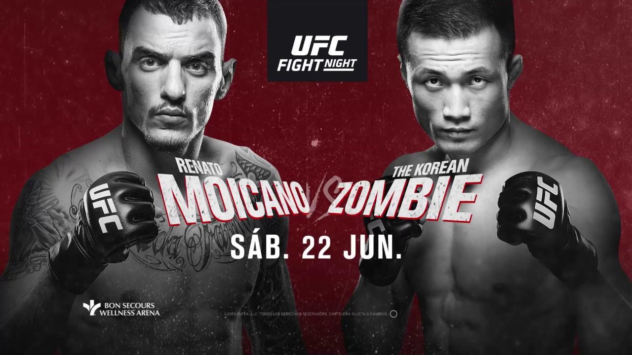 Resultados UFC: Greenville - Korean Zombie vapuleó a Renato Moicano 2